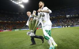 Sergio Ramos:  'Tarihe imza att�m'