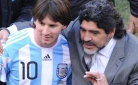 Maradona'dan Messi a��klamas�! 'Hay�r...'