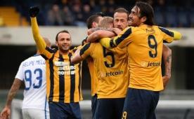 Inter'e lig sonuncusu Verona'dan 'tokat'