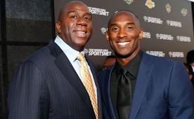 Magic: 'Kobe gelmi� ge�mi� en iyi Lakers'l�'