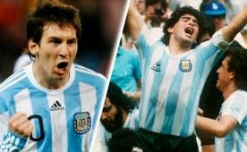 Maradona'dan �oke eden Messi s�zleri!..