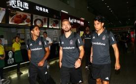 Beşiktaş, Çin'e ulaştı! 11 saatlik yolculuk..