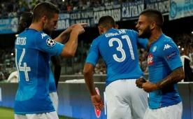 Napoli, Sneijder'siz Nice'i rahat geçti!..