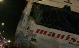 Balıkesirspor taraftarı kaza yaptı! 2 yaralı...