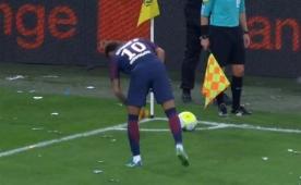 Neymar'dan Marsilya taraftarına tepki! İşte