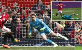 M.United rekor kırdı ama kazanamadı!..