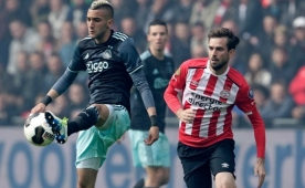 Olaylı maçta PSV'den Ajax'a büyük darbe!..