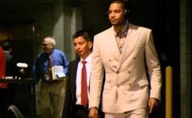 Carmelo, arenalara ne giyerek gelmeyi seviyor?