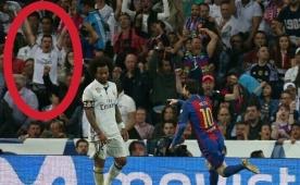 Leo Messi golü attı, Real taraftarı sevindi