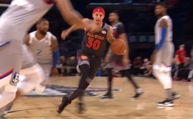 Curry, Kyrie'yi geçti, arkada Durant'i buldu!