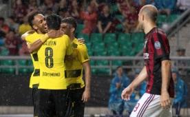 Nuri attı Dortmund, Milan'ı Çin'de devirdi