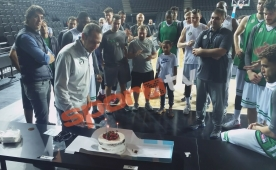 David Blatt'e sürpriz doğum günü!