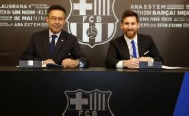 Leo Messi imzayı attı; Tam 700 milyon euro