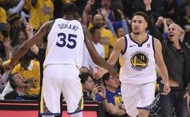 Durant ve Klay'in ilk turdaki en iyi oyunları!