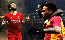 ... Ve Salah'ın rakiplerİ Galatasaray'dan çıktı