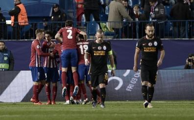 Galatasaray'�n Atletico kabusu