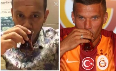 Podolski'den sonra F.Bah�e'nin yeni transferinden �ay mesaj�!