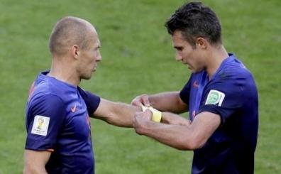 Van Persie'nin yerine Robben!..