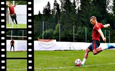 Galatasaray'da idman bitti ama Lukas Podolski bitirmedi...