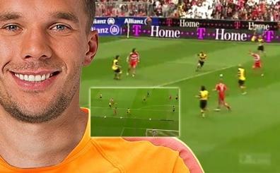 Son Aslan Lukas Podolski'nin <br>bu 5 gol� a��zlar� a��k b�rakt�!