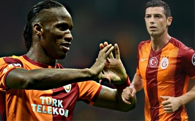 Didier Drogba ve Dzemaili <br>i�in transfer a��klamas� geldi!