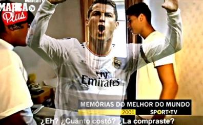 Ronaldo'nun 14 y�l �nceki hali; Sefalet ve pansiyondaki o oda...