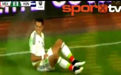 Javier Hernandez depremi
