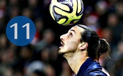 Zlatan Ibrahimovic, en iyi 11'ini a��klad�! ��te bu kadroyu yapt�...