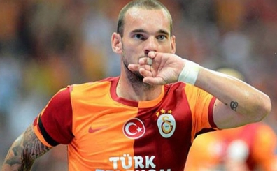 Wesley Sneijder i�in �ok iddia: 'T�rkiye'deki g�revim bitmi�tir'