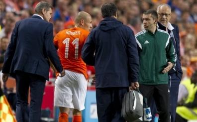 Hollanda'da Robben darbesi!.. Arjen Robben: 'Benim i�in...'