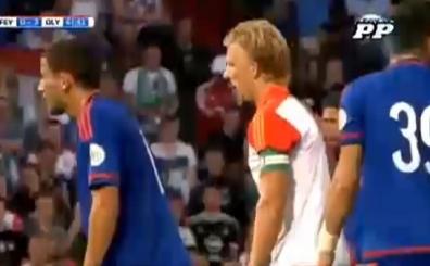 Dirk Kuyt'tan Feyenoord'da hem penalt� hem de gol! O an..