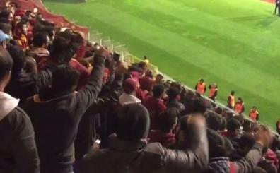 Galatasaray'da ma� sonu �ok b�y�k tepki! Olay tezah�rat!