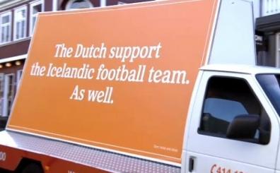 Hollandal�lar, �zlanda i�in bunu da yapt�! �zlanda'da �ok olay