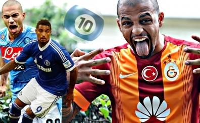 Galatasaray'da Felipe Melo'nun yerine listedeki 10 aday...