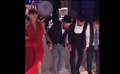 Y�l�n en �ok izlenen 3. videosu Raul Meireles'ten halay �ov!..