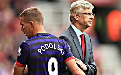 Wenger'den Podolski yorumu!