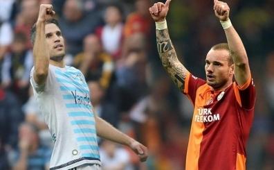 D�n gece canl� yay�nda patlad�; 'RVP biraz Sneijder'den utans�n'