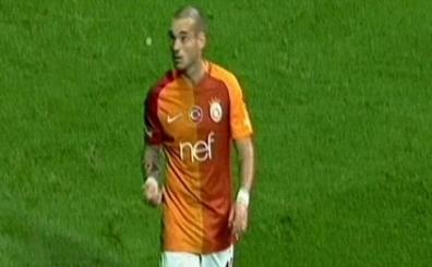 Sneijder'den ilgin� hareket!..