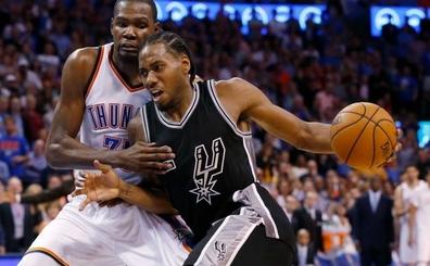 Durant: 'Kawhi olduk�a geli�ti, Spurs sistemi ona �ok uygun...'