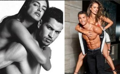 Irina, Cristiano Ronaldo'dan 'poz' r�van��n� �ok fena ald�!