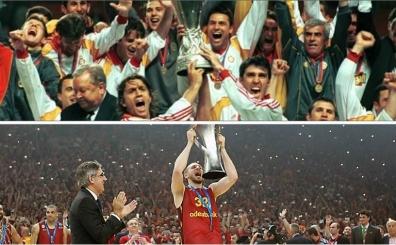 Galatasaray Spor Kul�b�'n�n Avrupa'da kazand��� 6 kupa...