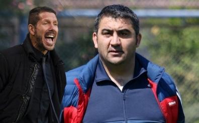 Mersin'den ayr�lan �mit �zat'a Diego Simeone g�ndermesi