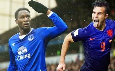 Everton'un y�ld�z� Lukaku'dan Ada'da RVP i�in fla� s�zler!..