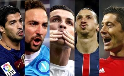 Avrupa'da bu sezonun gol kral� kim olacak? S�z s�ras� sizde...