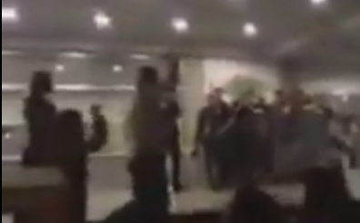 Saraco�lu'nda Aziz Y�ld�r�m'a protesto! ��te ma� sonu o an