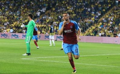 İşte 4 golün atıldığı Fenerbahçe - Trabzonspor maçında o anlar!