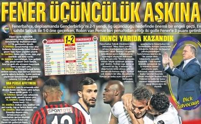 Türk spor basınında yer alan günün tam 54 gazete manşeti...