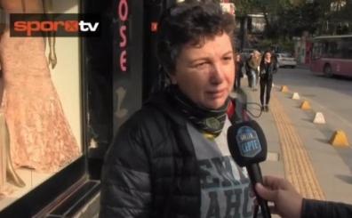 Sokak röportajı: 'F.Bahçe bugün kazansın, Aziz Yıldırım bıraksın'