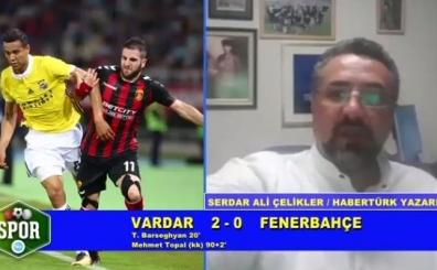 S.Ali Çelikler, Uğur Meleke'den Fenerbahçe'ye ağır eleştiriler