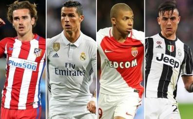 ..Ve Real Madrid'de Ronaldo'nun yerine düşünülen 11 yıldız isim!